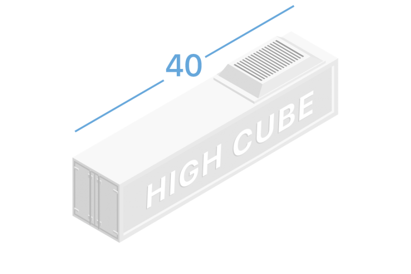 40HR Рефрижераторні контейнери 40 футів high cube